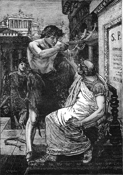 william shakespeares julius caesar mark A summary of act i, scene ii in william shakespeare's julius caesar learn exactly what happened in this chapter, scene, or section of julius caesar and what it means.
