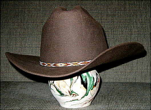 The dark brown hat is exceptionally fine. In fact 954ee760aa2