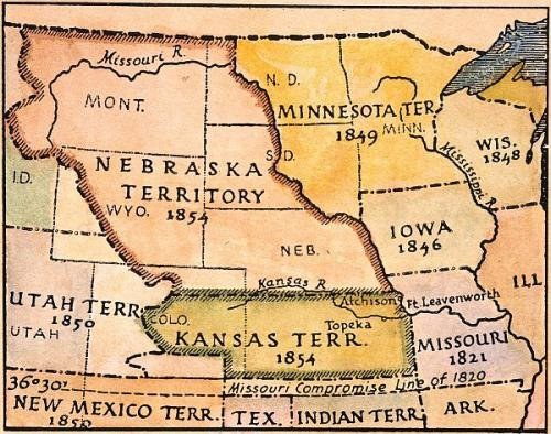 bleeding kansas and popular soveriegnty The proposal that each territory decide for itself whether or not slavery should exist seemed like a fair solution to the slavery issue but, it didnt turn out that way.