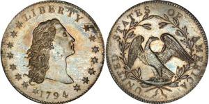 first US silver dollar