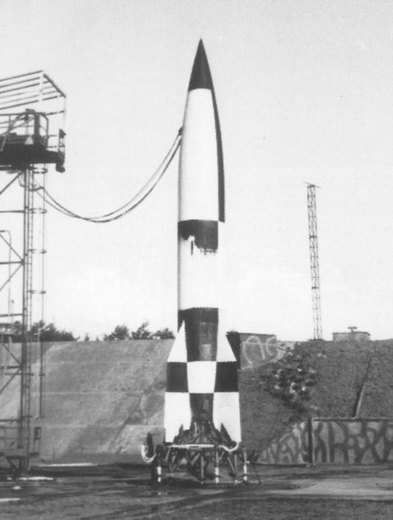 The First Rocket In Space | bluejayblog
