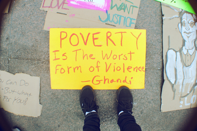 What is a good thesis statement for poverty