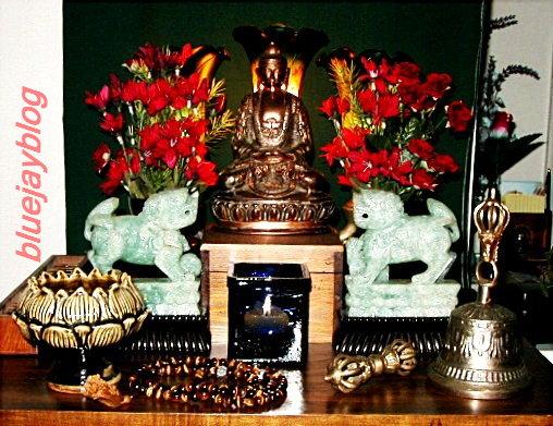 BodhiDay-altar