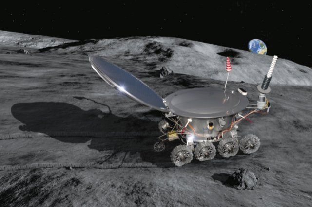 Lunokhod 2 Rover - Pics about space