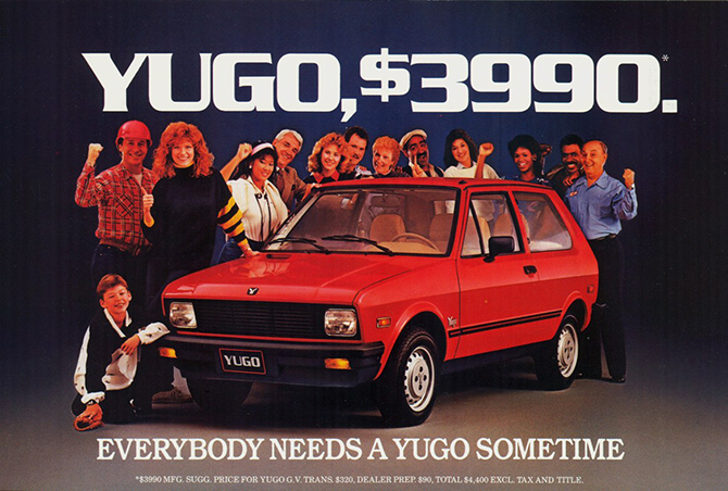 North Country Subaru >> Yugo's Demise | bluejayblog