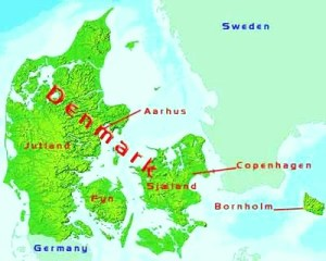 DenmarkPartnership-map