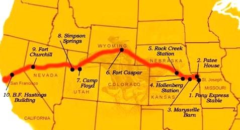 PonyExpress-Map-USParkSvc