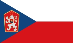 flag of the Socialist Republic of Czechoslovakia