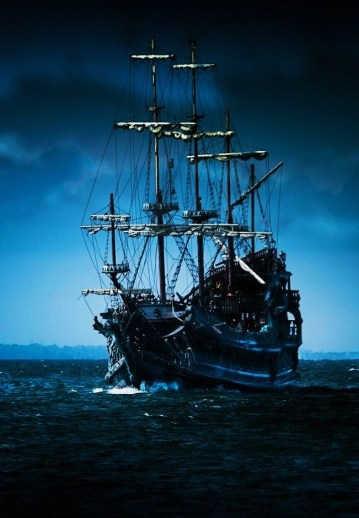 The Flying Dutchman ghost ship on December 28th