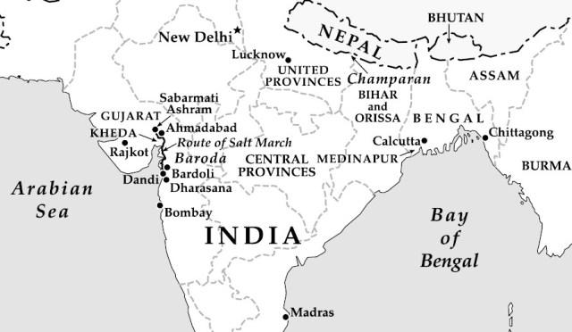 Gandhi-map