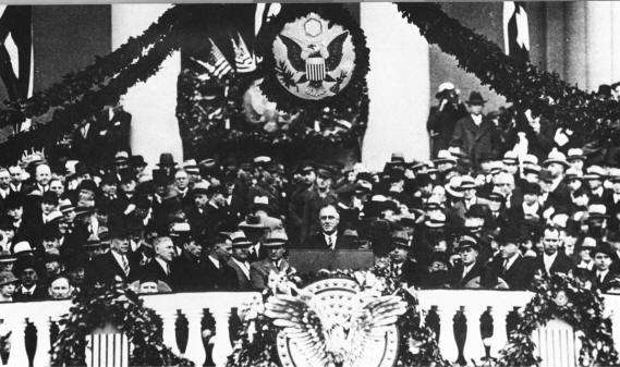FDR's 1st Inauguration