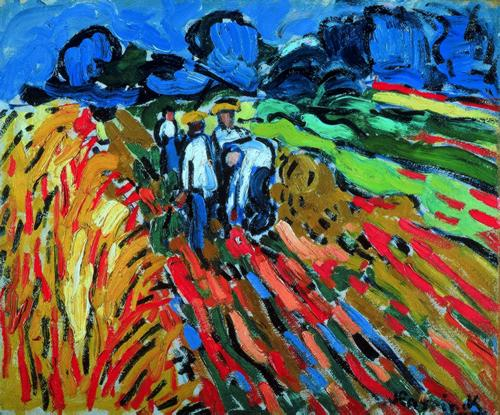 "Maurice de Vlaminck ""The Potato Pickers"" (1905)"
