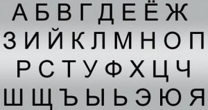 Alphabet-Russian