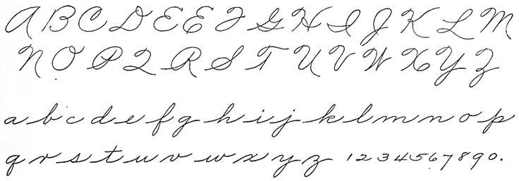 Palmer alphabet