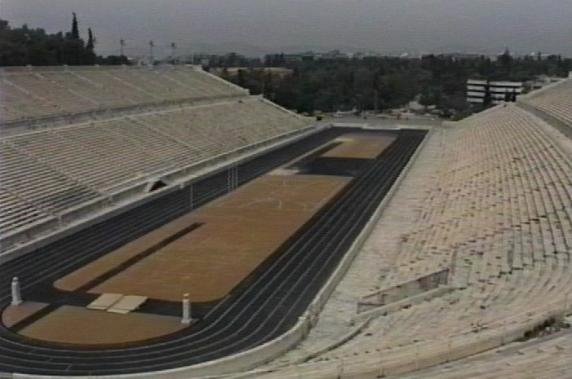 1860 Olympics stadium at Athens