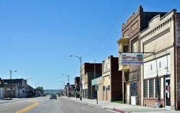 On the road in Bayard, Nebraska
