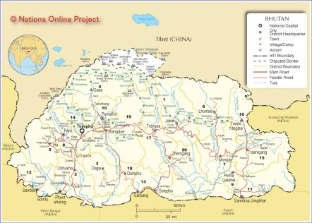 Bhutan-02map