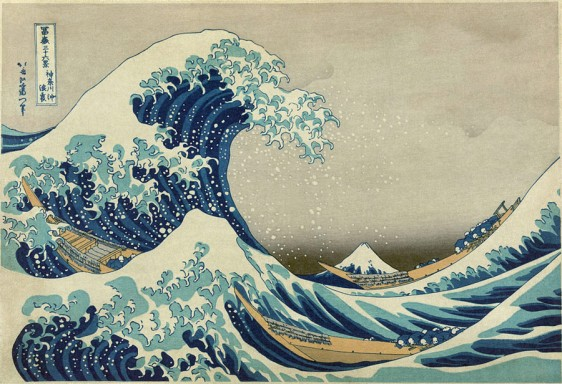 """Great Wave Off Kanagawa"" by Katsushika Hokusai"