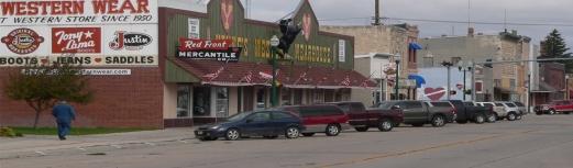 downtown Valentine, Nebraska