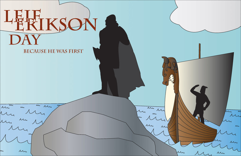 It's Leif Erikson Day | bluejayblog
